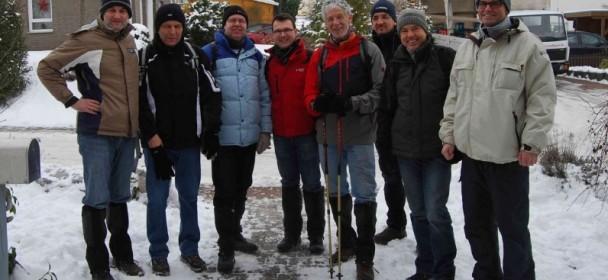 Herren30 – Winterwanderung 2013