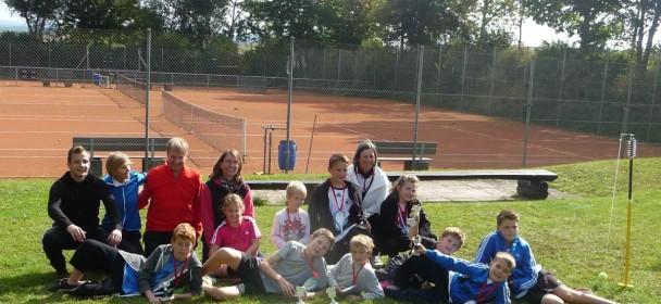 Tennis Kinder-Blätterfall-Turnier 2013