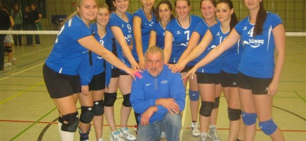 Unsere Volleyballerinnen gewinnen gegen Aumenau 3:0