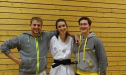 Katharina Schottorf besteht mit hervorragenden Ergebnis die Dan Prüfung