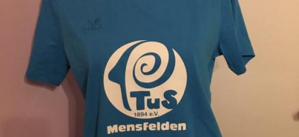 Neues T-Shirt des TuS