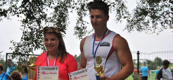 Laura und Tobias sind die Bergfestsieger 2017