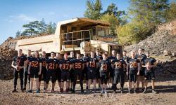 Unsere American Footballer: Die Mensfelden Miners
