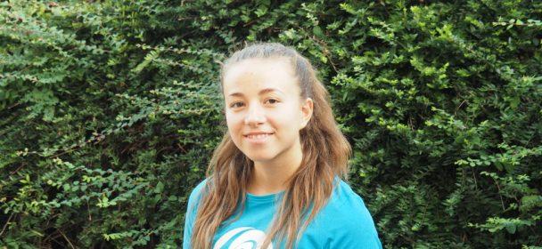 Yasmina Anger verstärkt das Rhönrad-Trainerteam