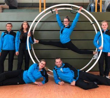 Erfolgreiche Teilnahme an Gaumeisterschaften im Rhönradturnen in Kirchhain